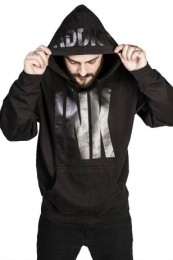 Big INK ADDICT Black Collection Men's Midweight Pullover Hoodie
