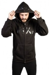 INK ADDICT Black Collection Men's Midweight Zip Hoodie