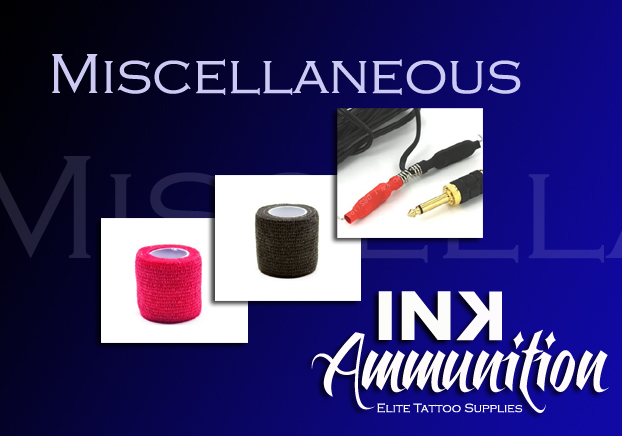 Ink Pots, Grip Tape, Other Supplies