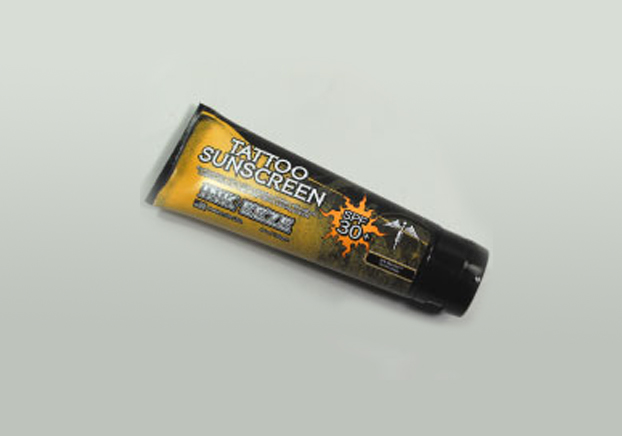 Ink eeze tattoo sunscreen 4oz tube for New tattoo sunscreen
